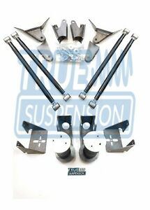 Ts Universal Rear Active Air Smooth Ride 4link Kit 110 Tapered Air Springs
