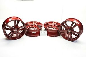 New Oem Versa 15 Alloy Wheels Red Nismo Set Of 4 15x5 5 Note 12 19 40300 3wc5a