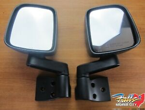 1994 2006 Jeep Wrangler Tj Left Right Side View Mirror Set Mopar Oem
