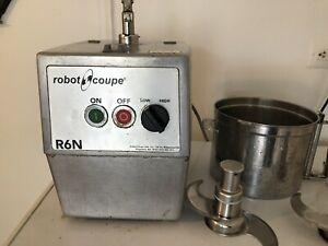 Robot Coupe R6n Food Processor With 7 Qt Stainless Steel Bowl