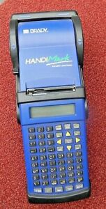 Brady Handimark Portable Label Maker Printer
