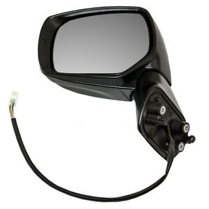 Drivers Side View Power Mirror Assembly For 14 18 Subaru Forester 91054aj230