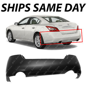 New Primered Rear Bumper Cover Direct Replacement For 2009 2014 Nissan Maxima