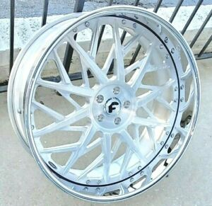 24 Forgiato Blocco Dodge Hell Cat Charger And Challenger Srt 5x115
