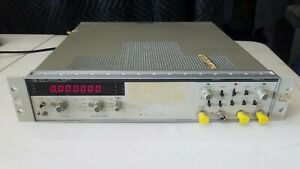 Hp Agilent 5328a Universal Counter Tested Fast Free Shipping Whb