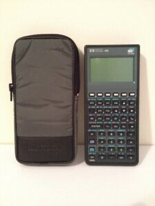 Hewlett Packard Hp 48g 32k Ram Graphing Calculator Tested And Works Great