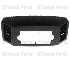 Brand New Oem Mopar Center Dashboard Upper Bezel Jeep Grand Cherokee 5jn301dhap