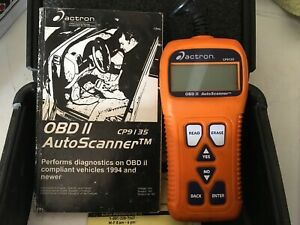 Actron Cp9135 Obd Ii Auto Scanner With Hard Case
