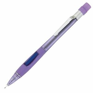 Pd347tv Pentel Quicker Clicker Mechanical Pencil 0 7mm Violet Barrel 12 Each
