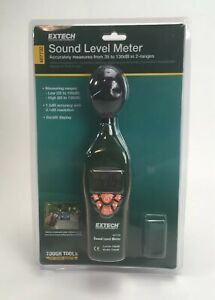 Extech 407732 Sound Level Meter Backlit Lcd Display