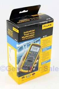 Fluke 87v Industrial True rms Multimeter Mfd 2018 New In Box