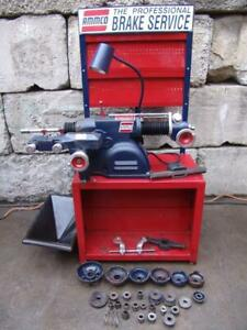 Ammco 4000b Brake Lathe Disc Drum 6950 Twin Facing Cutter And Many Extras