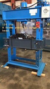 Avalon Machinery H Frame 120 Ton Hydraulic Press