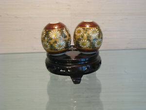 Japanese Hand Painted Scroll Weights