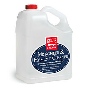 Griot s Garage 11067 Micro Fiber And Foam Pad Cleaner Gallon free Shipping