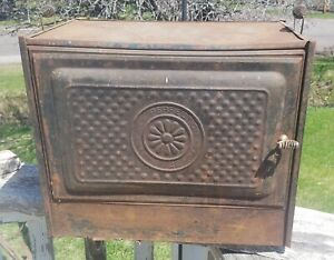 Vtg New Perfection Stove Top Oven No 22 1908 Wood Cook Food Warmer Box Pie Safe