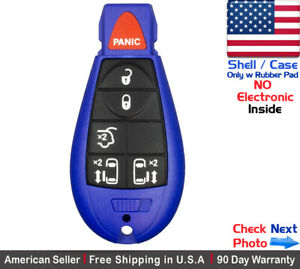 1x New Replacement Remote Key Fob Case For Chrysler Dodge Caravan Vw Shell
