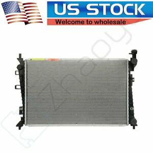 New Replacement Aluminum Radiator For 2008 2011 Ford Focus 2 0l L4 Fits Cu13087