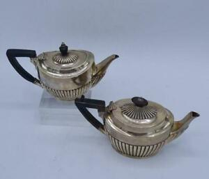 Antique English James Dixon Son Sheffield Sterling Silver Teapot 1867 1900