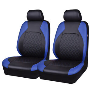 Carpass New Arrival 6pcs Two Front 5 Colors Pu Leather Universal Car Seat Covers