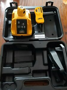 Pro Shot L3 Rotary Transit Level And R6 Receiver Extra Clamps And Case