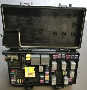 13 Dodge Durango Tipm Totally Integrated Power Control 68089321ad Fuse Box Temic