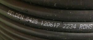 10 Belden 8425 Multi 5 Conduct microphone musical Instrument Cable 20 Awg