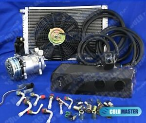 A C Kit Universal Under Dash Evaporator Kit Air Conditioner 12v 450 000 Hd 5b