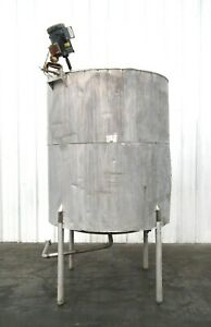 Mo 3050 Stainless Steel 565 Gallon Insulated Mixing Tank