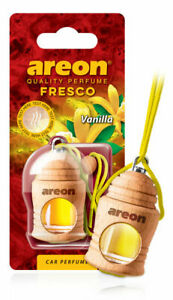 Car Air Freshener Liquid Bottle Hanging Scent Vanilla Natural Perfume Fragrance