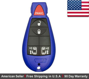 1x New Replacement Keyless Entry Remote Key Fob For Chrysler Dodge Caravan
