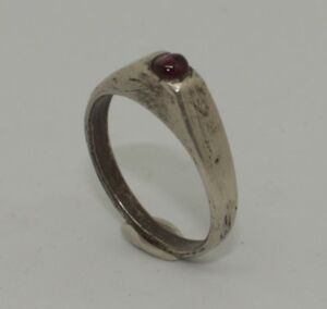 Superb 15th Medieval Silver Stirrup Ring