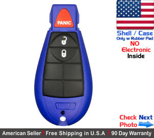 1x New Replacement Remote Key Fob Case For Chrysler Dodge Caravan Shell Only