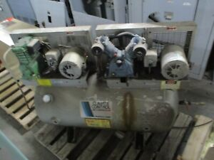 Ingersoll rand 2 stage Air Compressor 2 ca2c7 3 4hp X 2 150psi 208 230 460v Used