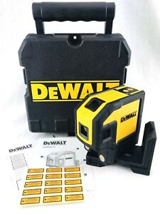 Dewalt 5 Spot Self leveling Horizontal Line Combination Laser Level Dw0851