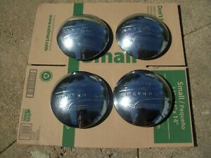 41 48 Chevy Truck 1 2 Ton Car Hubcaps Set Of 4 Original