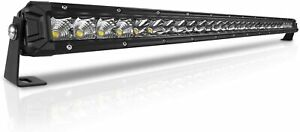 8d Tri Row 32 Inch 1620w Curved Led Light Bar Spot Flood Combo For Jeep Ford 30