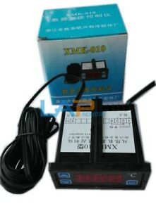 Qty 1 New Xmk 010 Double Limit Digital Display Temperature Controller