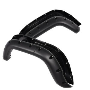 Textured Pocket Rivet Wheel Fender Flares For 1984 2001 Jeep Cherokee Xj 4 door