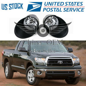 Fit 2007 2008 2009 2010 2011 2012 2013 Toyota Tundra Front Lamp Clear Fog Lights