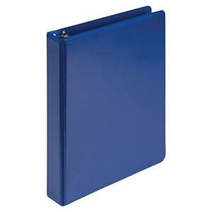 Lot Of 50 3 Ring Binders 1 1 2in Inch Ring Size Dark Blue Blue