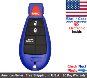 1x New Replacement Remote Control Key Fob Case For Chrysler Dodge Shell Only