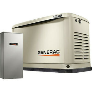 Generac 7032 11 Lp 10 Ng Kw Automatic Standby Generator 120 240vac W switch