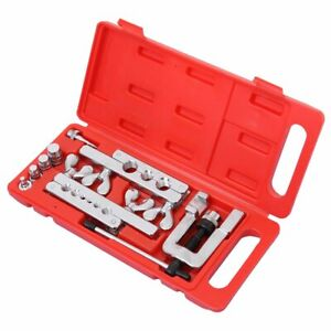 Portable Hvac 45 Flaring And Swaging Tool Kit Soft Refrigeration Copper Tubing