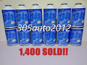 R134a Refrigerant best Price On Ebay 1 Case 12 Cans 12oz Johnsen s Ac Auto Car
