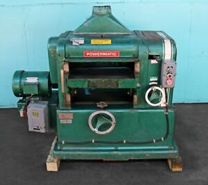 Powermatic 18 Planer With Drum Sander