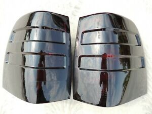 03 06 Expedition Smoked Tail Lights Black Oem Custom Tinted Non Led Painted