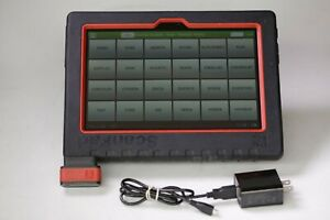 Launch Scanpad 101 Scan Tool Tablet V3 07 001 W Software And Car Lines