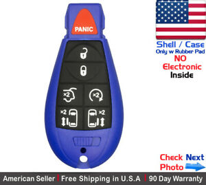 1x New Keyless Entry Remote Key Fob Case For Caravan Chrysler Dodge Shell Only