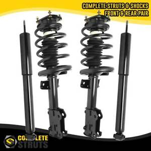 2011 2014 Ford Mustang Front Quick Complete Struts Rear Shock Absorbers